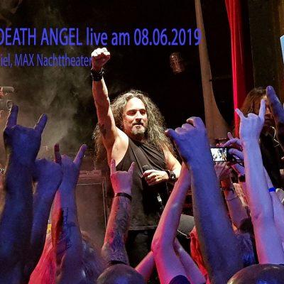 DEATH ANGEL: Humanicide Tour, 08.06.2019, MAX Nachttheater Kiel