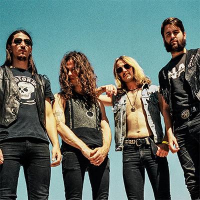 DEATH ALLEY Bandfoto