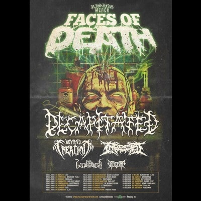 "DECAPITATED: ""Faces Of Death""-Europatour im März 2020"