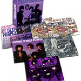 "DEEP PURPLE: Box-Set ""Hard Road: The Mark 1 Studio Recordings 1968-69"""