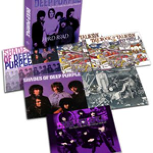 "DEEP PURPLE: Box-Set ""Hard Road: The Mark 1 Studio Recordings 1968-69"""
