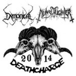 "DEMONICAL & NUNSLAUGHTER: Split-7"" zur Tour"