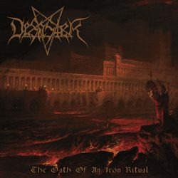 "DESASTER: Cover, Tracklist & neuer Song von ""The Oath Of An Iron Ritual"""