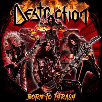 "DESTRUCTION: ""Nailed To The cross""-Mitschnitt vom ""Born To Thrash – Live In Germany""-Album"