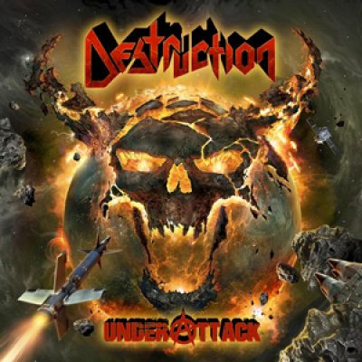 "DESTRUCTION: Cover von ""Under Attack"""
