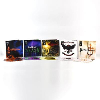 DEVILDRIVER: Neuauflagen der ersten fünf Alben