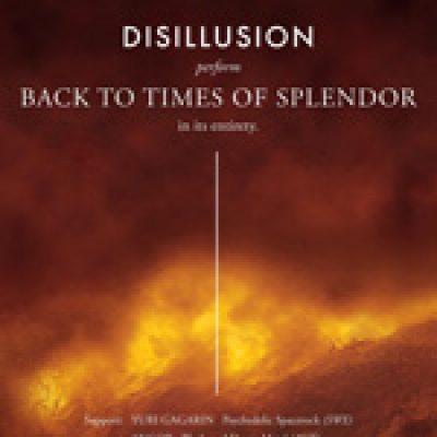 """DISILLUSION: bringen """"Back to Times Of Splendor"""" auf die Bühne"""