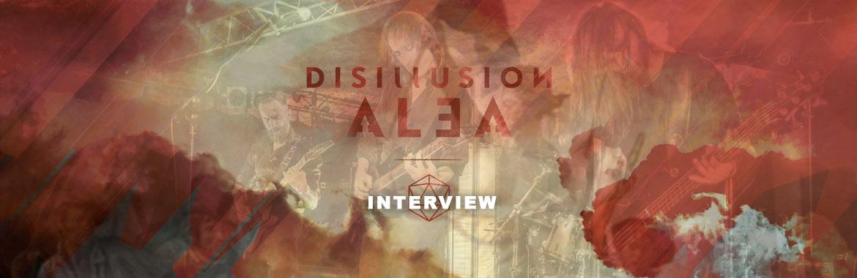 DISILLUSION Interview mit Andy Schmidt: Alea, Alien Gloria & der Tabubruch