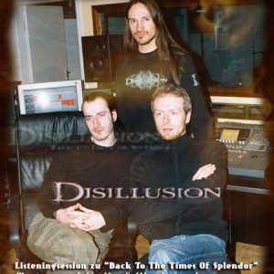 DISILLUSION – Listeningsession zu ´Back To The Times Of Splendor´ – Januar 2004, Fellbach, Mastersound