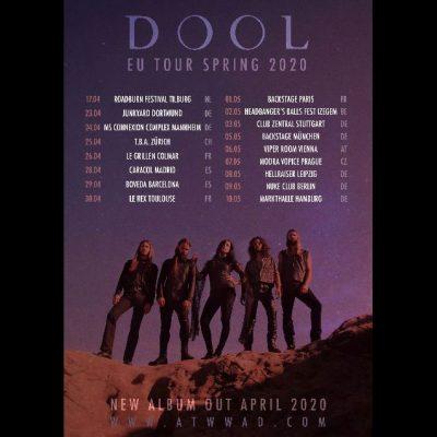 DOOL: neue Platte & Tour im Frühjahr 2020