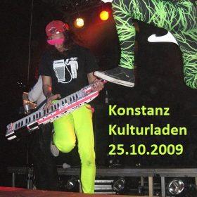 DRAGONFORCE, THE NEW BLACK: Konstanz, Kulturladen, 25.10.2009