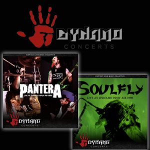Mitschnitte vom DYNAMO OPEN AIR: PANTERA & SOULFLY live 1998