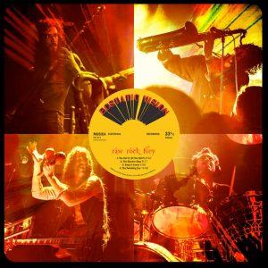 """ESTATIC VISION: Song vom neuen Album """"Raw Rock Fury"""""""