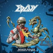 """EDGUY : in den Charts mit  """"Space Police – Defenders Of The Crown"""""""