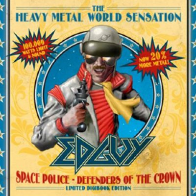 "EDGUY: limited Edition von  ""Space Police – Defenders Of The Crown"""