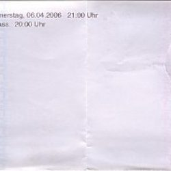 ELÄKELÄISET, DIE ZWANGSVERSTEIGERTEN DOPPELHAUSHÄLFTEN: München, Backstage, 06.04.2006