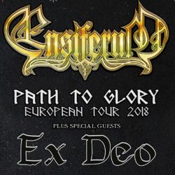 "ENSIFERUM ""Path To Glory"" Tour mit EX DEO"