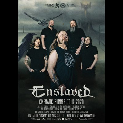 "ENSLAVED: ""Cinematic Summer Tour 2020"" mit Livestreams am 30. Juli, 20. August & 30. September"