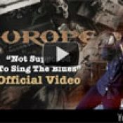 EUROPE: Video zu ´Not Supposed to Sing The Blues´