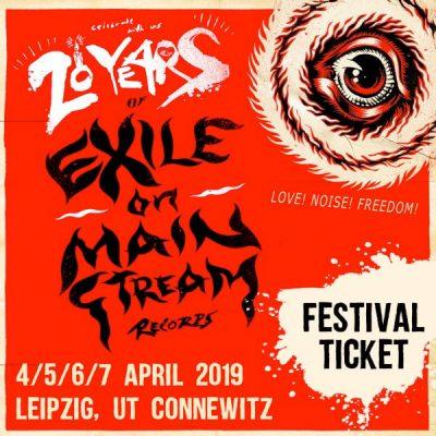 EXILE ON MAINSTREAM RECORDS: Love. Noise. Freedom. Festival zum 20-Jährigen in Leipzig