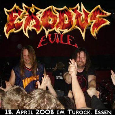 EXODUS und EVILE am 18. April 2008 im Turock, Essen