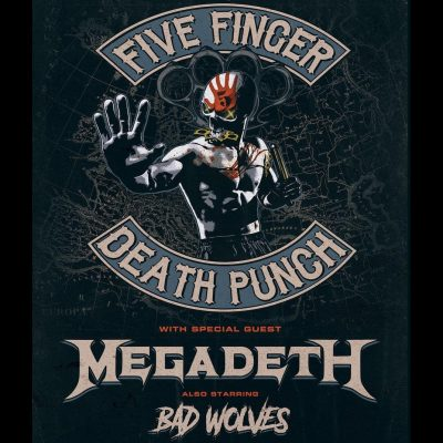 FIVE FINGER DEATH PUNCH: Tour mit MEGADETH & neue Platte 2020