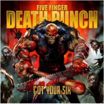 "FIVE FINGER DEATH PUNCH: Song von ""Got Your Six"" online"