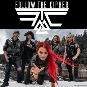 FOLLOW THE CIPHER: neuer Drummer