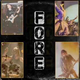 "FORE: Punk-Band um ex-KREATOR-Bassist Christian ""Speesy"" Giesler"