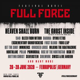 FULL FORCE FESTIVAL 2020: HEAVEN SHALL BURN sind zweiter Headliner