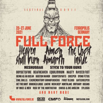 FULL FORCE FESTIVAL 2021: Termin und erste Bands