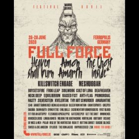 FULL FORCE FESTIVAL 2020: mit CULT OF LUNA, SYLOSIS, FIT FOR AN AUTOPSY und mehr