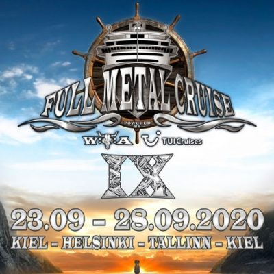 FULL METAL CRUISE 2020: mit SONATA ARCTICA, DIAMOND HEAD, LEGION OF THE DAMNED