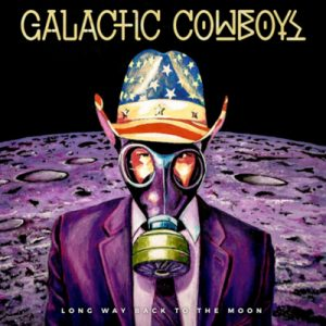 galactic cowboys long way back to the moon Cover