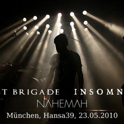 GHOST BRIGADE, INSOMNIUM, NAHEMAH: Hansa 39, München, 23.05.2010