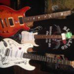 Auktion mit signierten Gitarren von RAMMSTEIN, SODOM, KNORKATOR