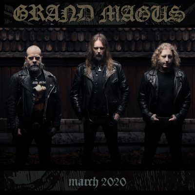 "GRAND MAGUS: Auf ""Wolf God""-Tour 2020"