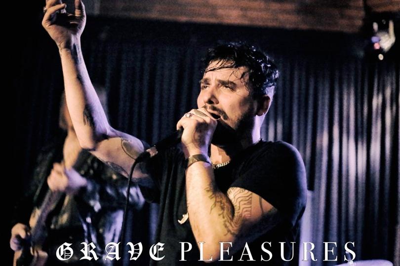 grave pleasures Mat McNerney Mannheim Konzertfoto LivePic
