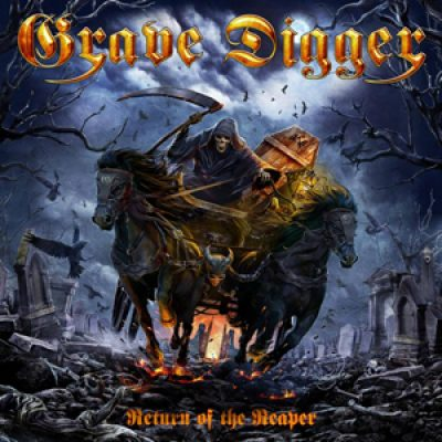 "GRAVE DIGGER:neues Album  ""The Return Of The Reaper"""