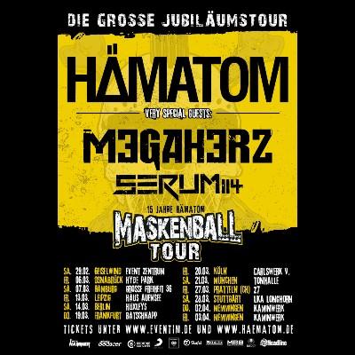 """SERUM 114: erster Song vom neuen Album """"Im Zeichen der Zeit"""" und Tour mit HÄMATOM"""
