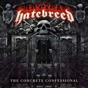 """HATEBREED: Cover & Tracklist von  """"The Concrete Confessional"""""""
