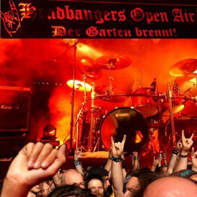 HEADBANGERS OPEN AIR 2019: wie immer ein heißes Festival im Metal Garten