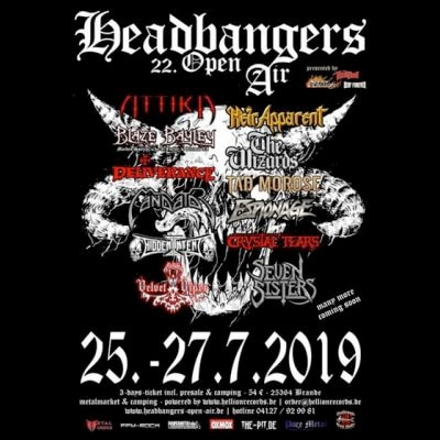 HEADBANGERS OPEN AIR: mit MEDIEVAL STEEL