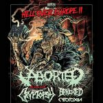 """Hell over Europe II"": ABORTED, Cryptopsy, Benighted, Cytotoxin"