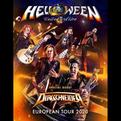 "HELLOWEEN: ""United Alive World Tour Part II"" & neues Album  auf 2021 verschoben"
