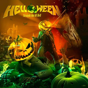 HELLOWEEN: Cover von ´Straight Out Of Hell´