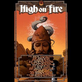 HIGH ON FIRE: Konzerte im Sommer in Deutschland