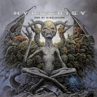 """HYPOCRISY: Cover, Tracklist und erster Song von """"End Of Disclosure"""" veröffentlicht."""