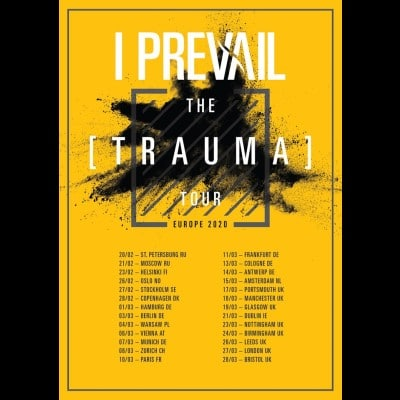 "I PREVAIL: neues Video & ""Trauma""-Europatour im Winter 2020"