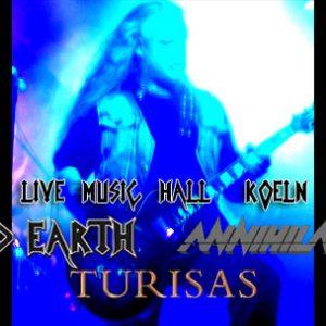 ICED EARTH, ANNIHILATOR und TURISAS am 08. Oktober 2007 in der Kölner Live Music Hall